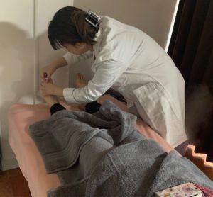 鍼灸治療(冷え性)